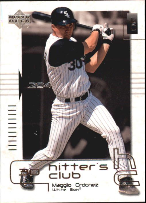 2000 Upper Deck Hitter's Club #48 Magglio Ordonez