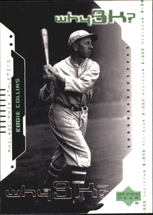 2000 Upper Deck Hitter's Club #55 Eddie Collins W3K