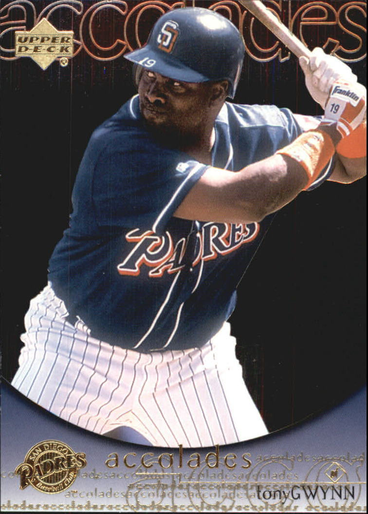 2000 Upper Deck Hitter's Club Accolades #A2 Tony Gwynn