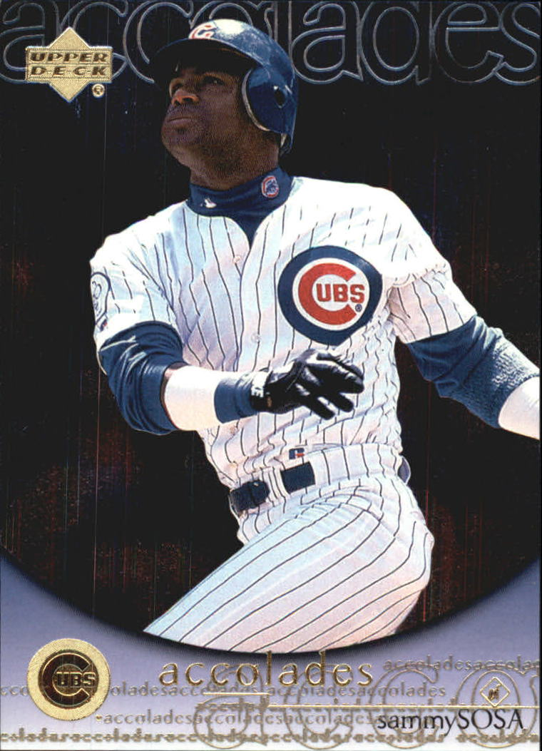 2000 Upper Deck Hitter's Club Accolades #A3 Sammy Sosa