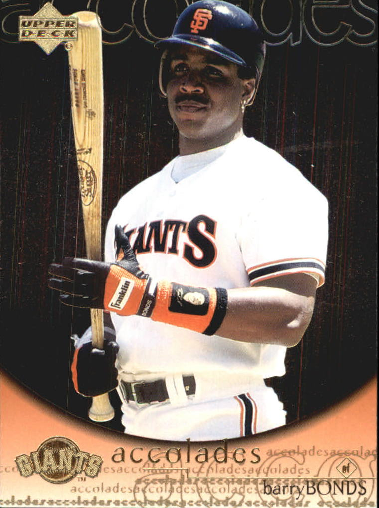 2000 Upper Deck Hitter's Club Accolades #A7 Barry Bonds