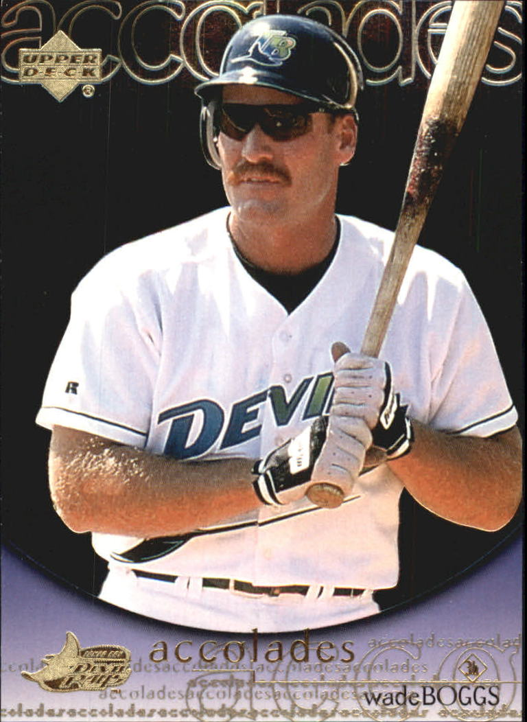 2000 Upper Deck Hitter's Club Accolades #A8 Wade Boggs