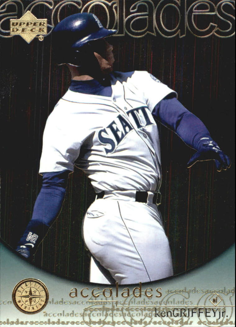 2000 Upper Deck Hitter's Club Accolades #A9 Ken Griffey Jr.