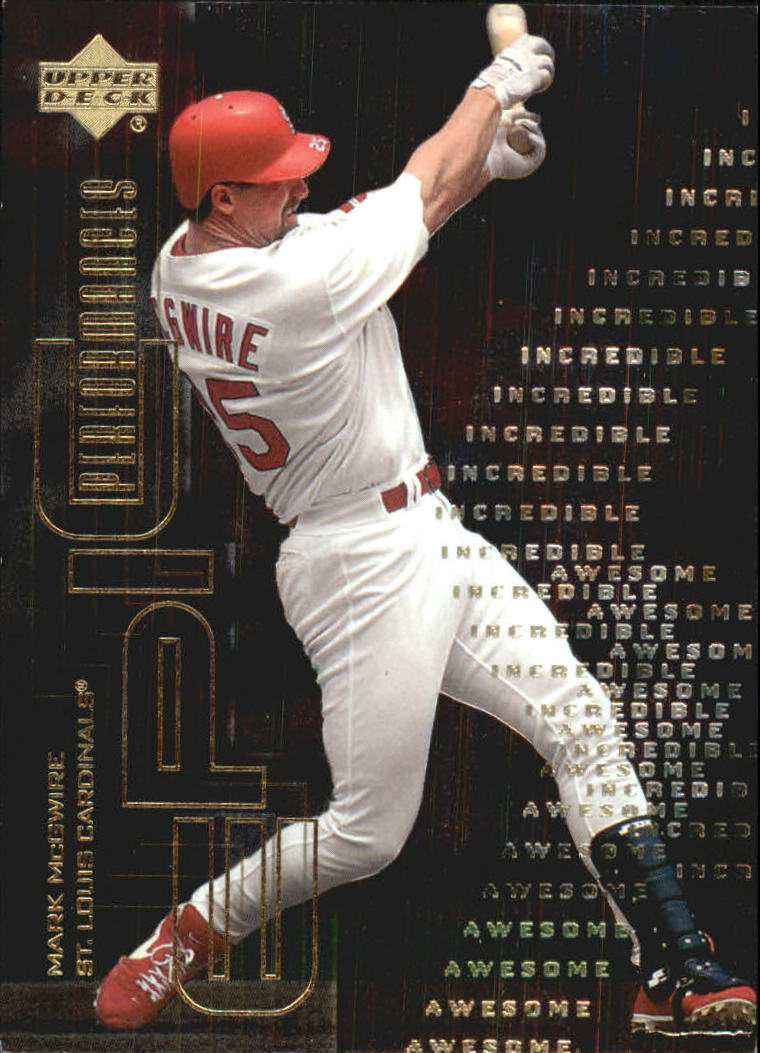 2000 Upper Deck Hitter's Club Epic Performances #EP1 Mark McGwire
