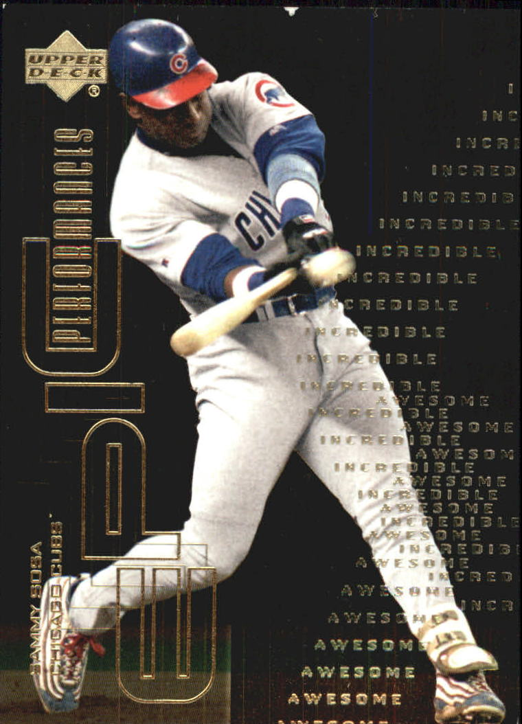 2000 Upper Deck Hitter's Club Epic Performances #EP3 Sammy Sosa