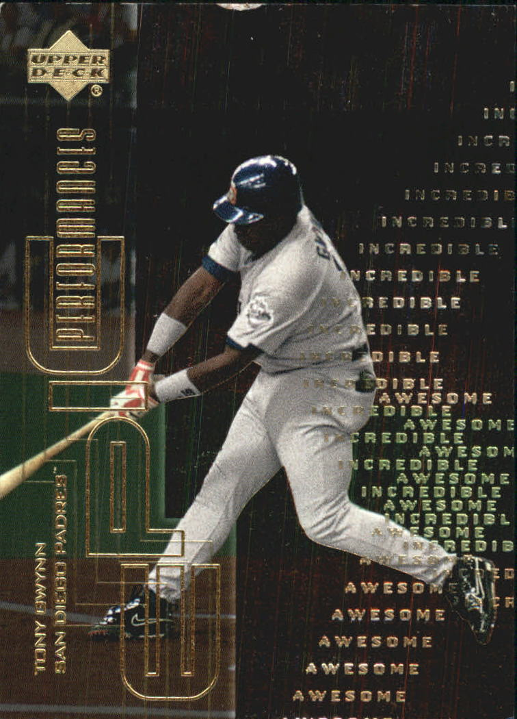 2000 Upper Deck Hitter's Club Epic Performances #EP6 Tony Gwynn