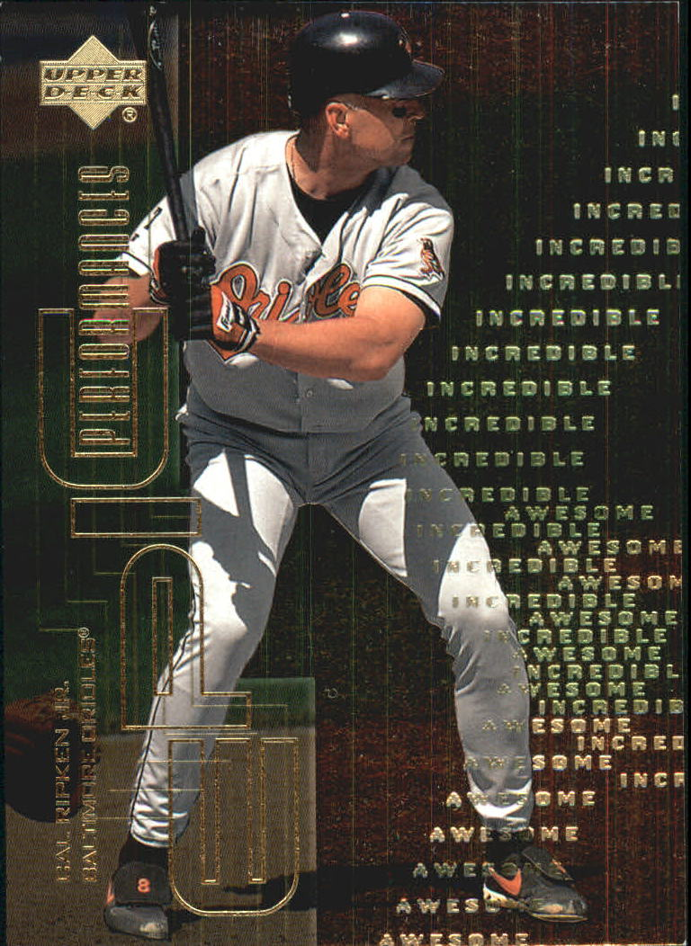 2000 Upper Deck Hitter's Club Epic Performances #EP8 Cal Ripken