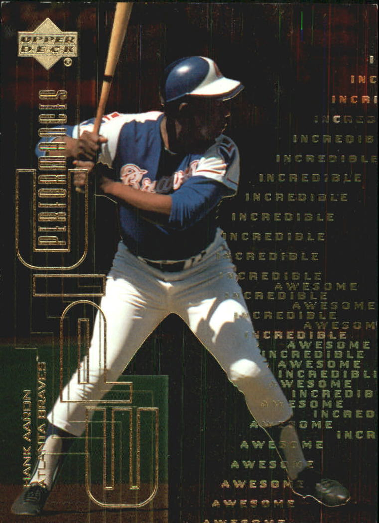 2000 Upper Deck Hitter's Club Epic Performances #EP10 Hank Aaron