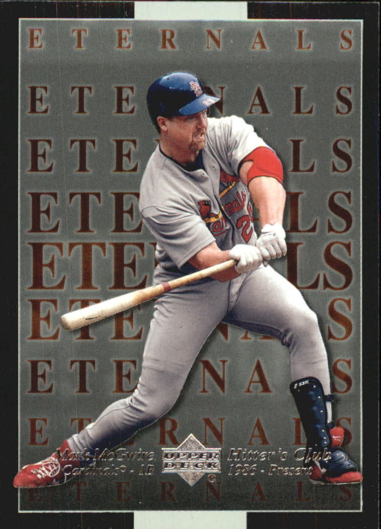 2000 Upper Deck Hitter's Club Eternals #E2 Mark McGwire