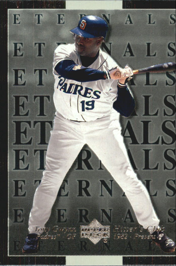 2000 Upper Deck Hitter's Club Eternals #E5 Tony Gwynn