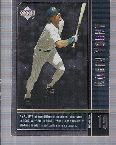 2000 Upper Deck Legends #13 Robin Yount