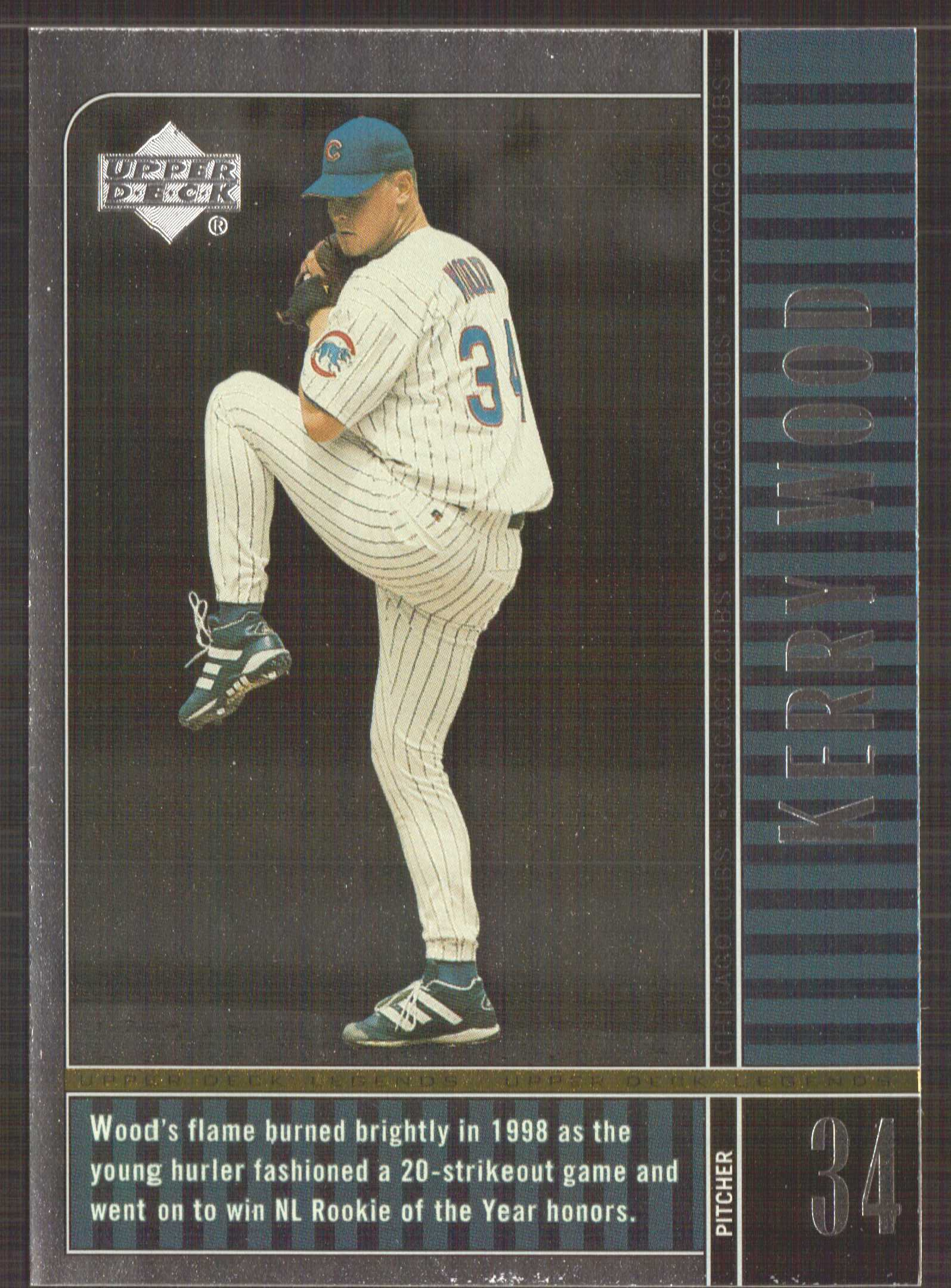 2000 Upper Deck Legends #20 Kerry Wood