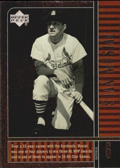 2000 Upper Deck Legends #21 Stan Musial