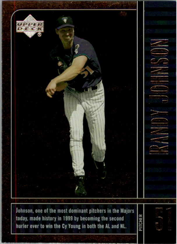 2000 Upper Deck Legends #25 Randy Johnson
