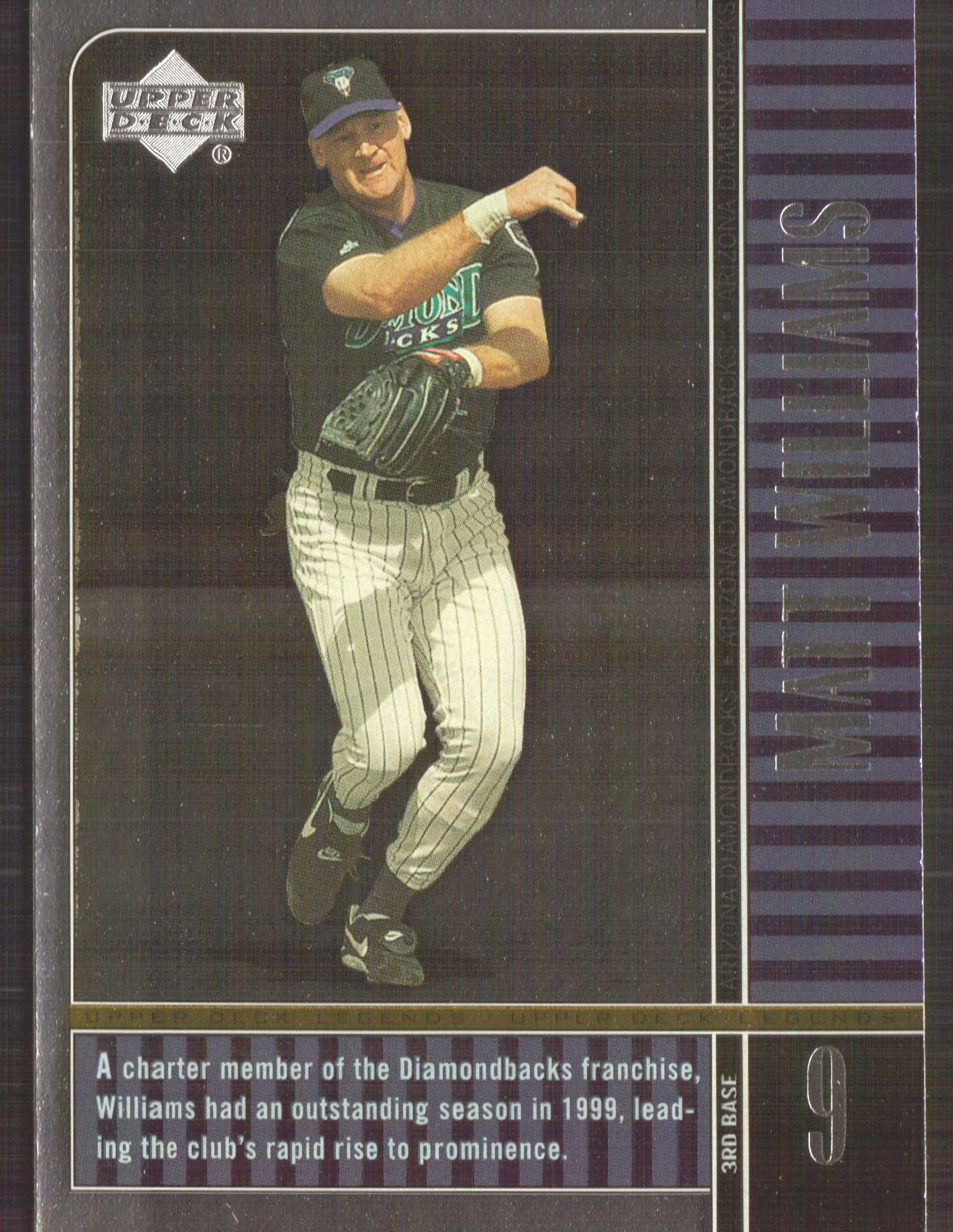 2000 Upper Deck Legends #26 Matt Williams