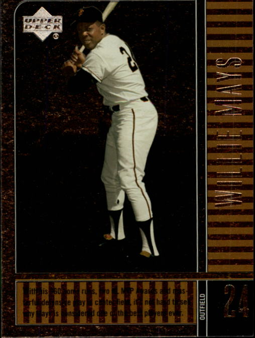 2000 Upper Deck Legends #36 Willie Mays