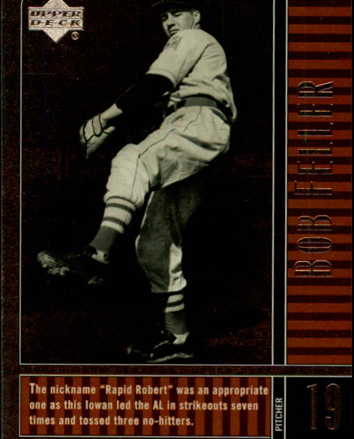 2000 Upper Deck Legends #39 Bob Feller