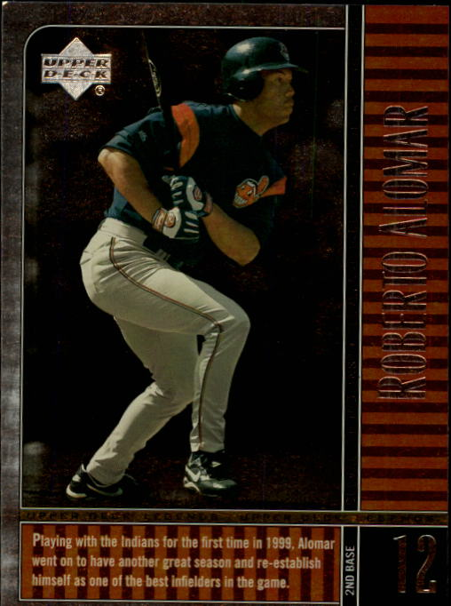 2000 Upper Deck Legends #40 Roberto Alomar