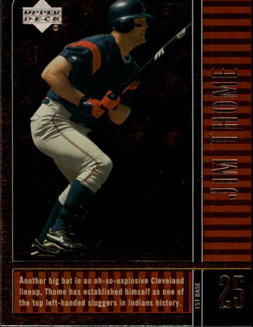 2000 Upper Deck Legends #41 Jim Thome
