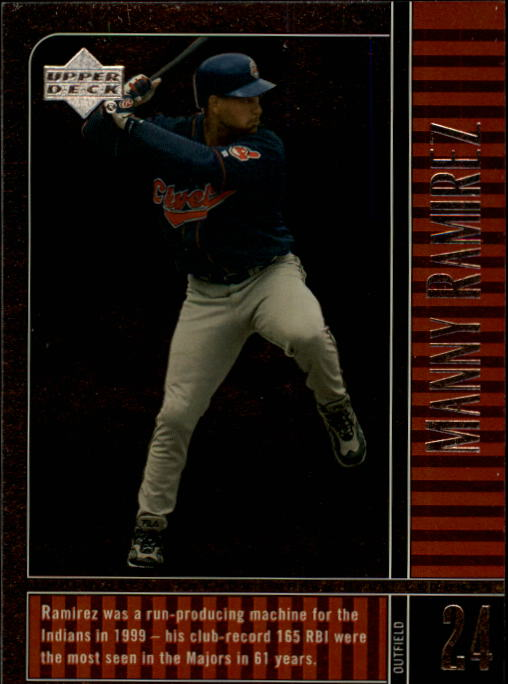 2000 Upper Deck Legends #42 Manny Ramirez