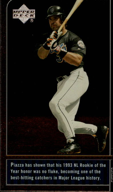 2000 Upper Deck Legends #47 Mike Piazza