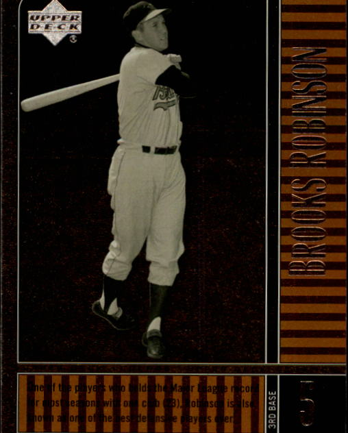 2000 Upper Deck Legends #49 Brooks Robinson