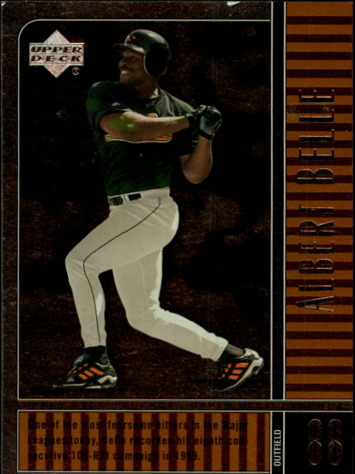 2000 Upper Deck Legends #52 Albert Belle