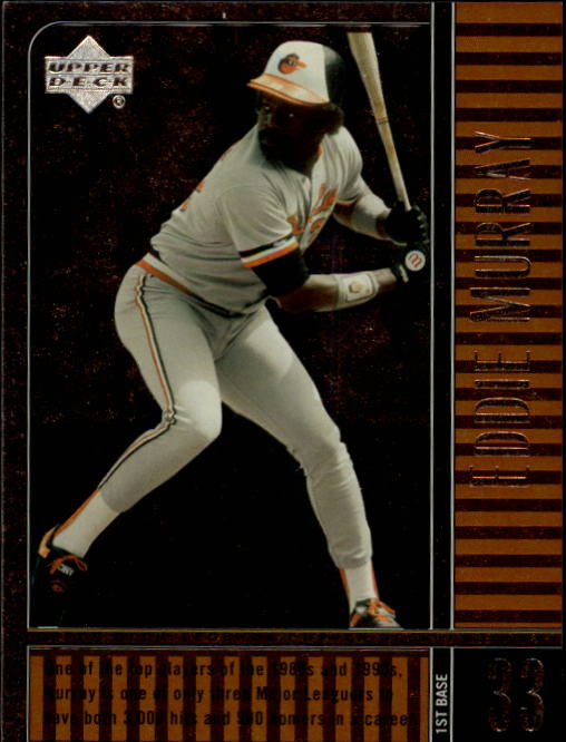 2000 Upper Deck Legends #53 Eddie Murray