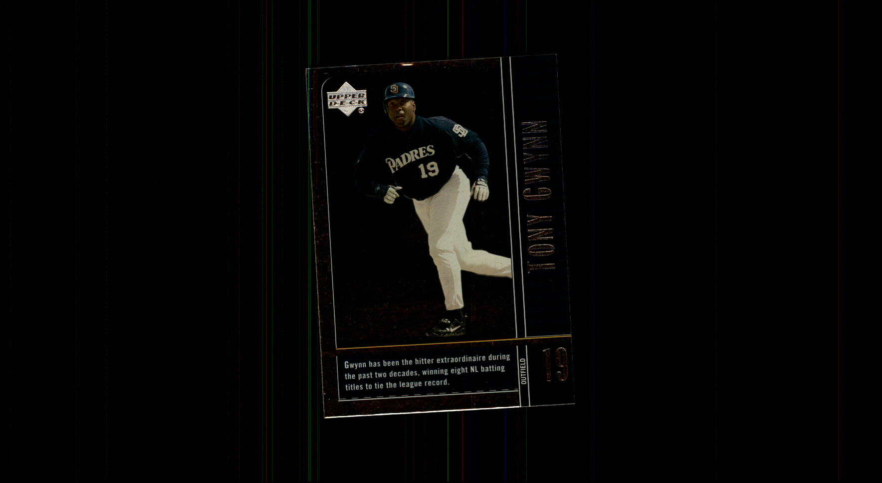 2000 Upper Deck Legends #54 Tony Gwynn
