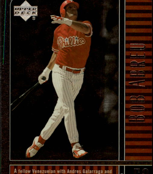 2000 Upper Deck Legends #60 Bob Abreu