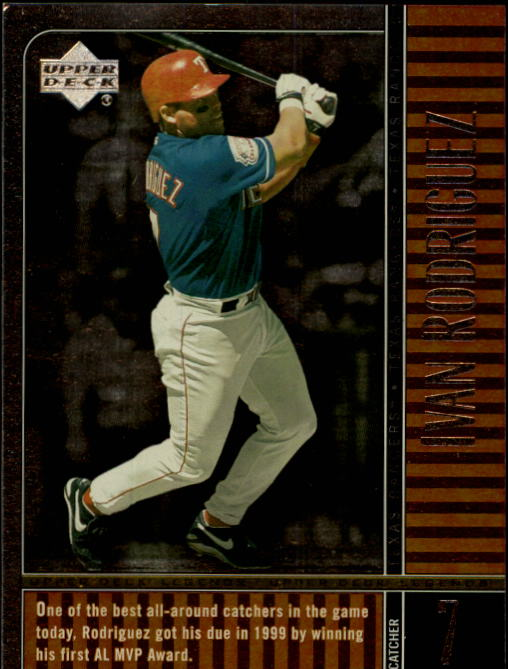 2000 Upper Deck Legends #70 Ivan Rodriguez