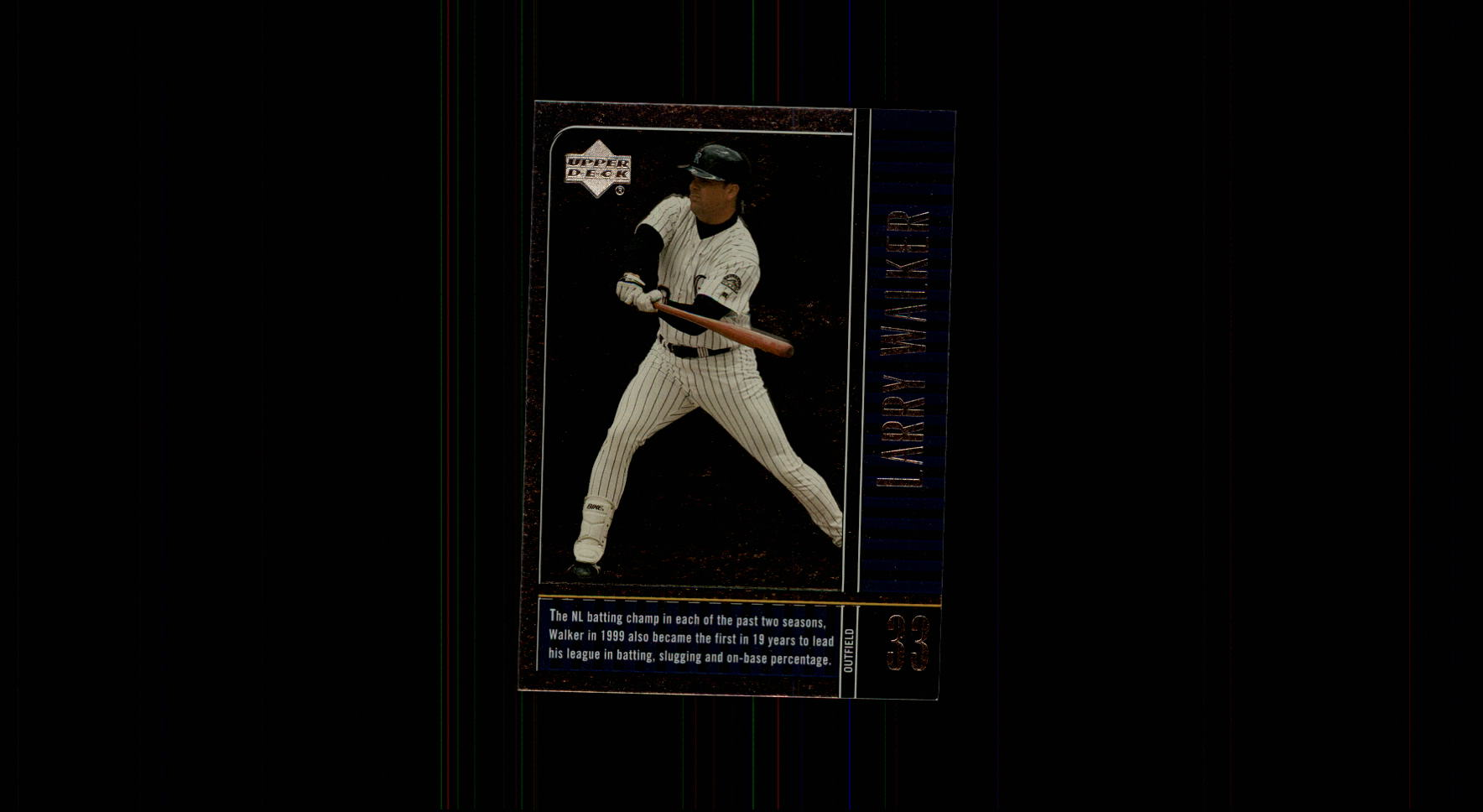 2000 Upper Deck Legends #72 Larry Walker