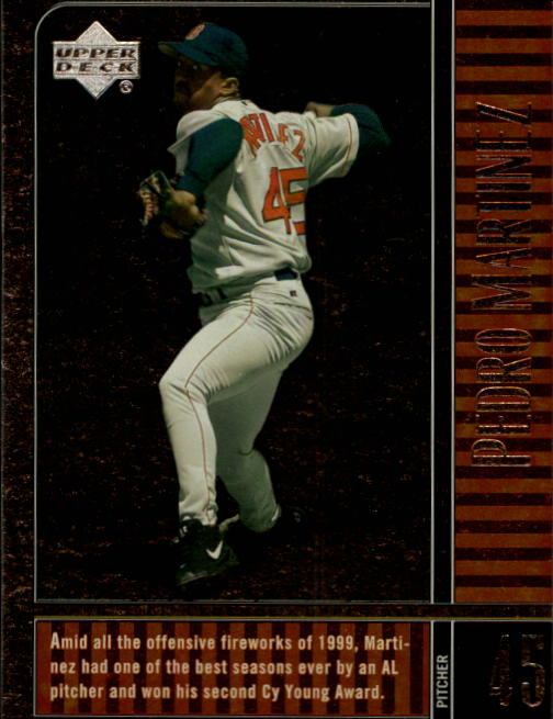 2000 Upper Deck Legends #77 Pedro Martinez