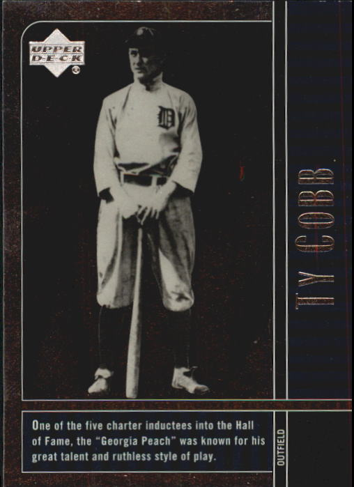 2000 Upper Deck Legends #80 Ty Cobb