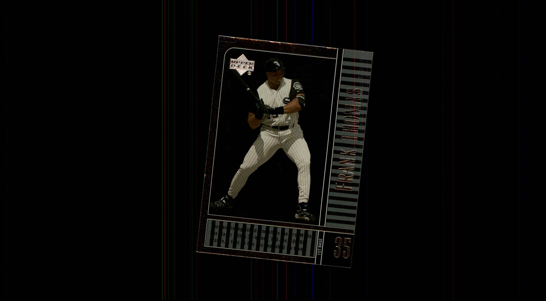 2000 Upper Deck Legends #84 Frank Thomas