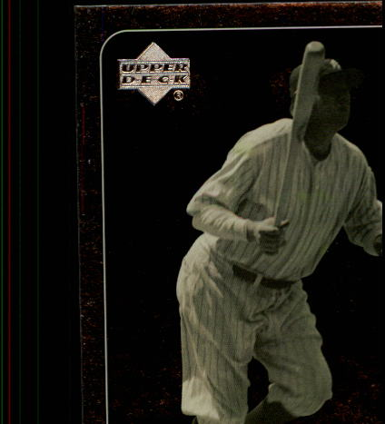 2000 Upper Deck Legends #87 Babe Ruth front image