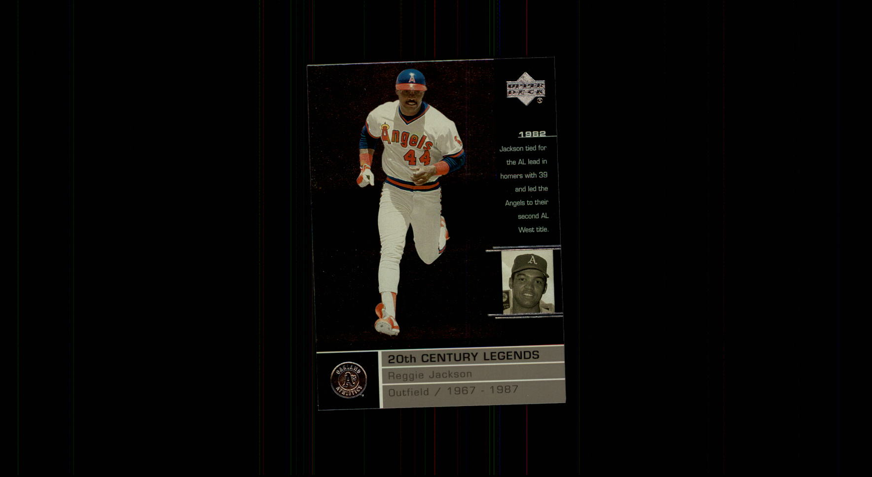 2000 Upper Deck Legends #118 Reggie Jackson 20C