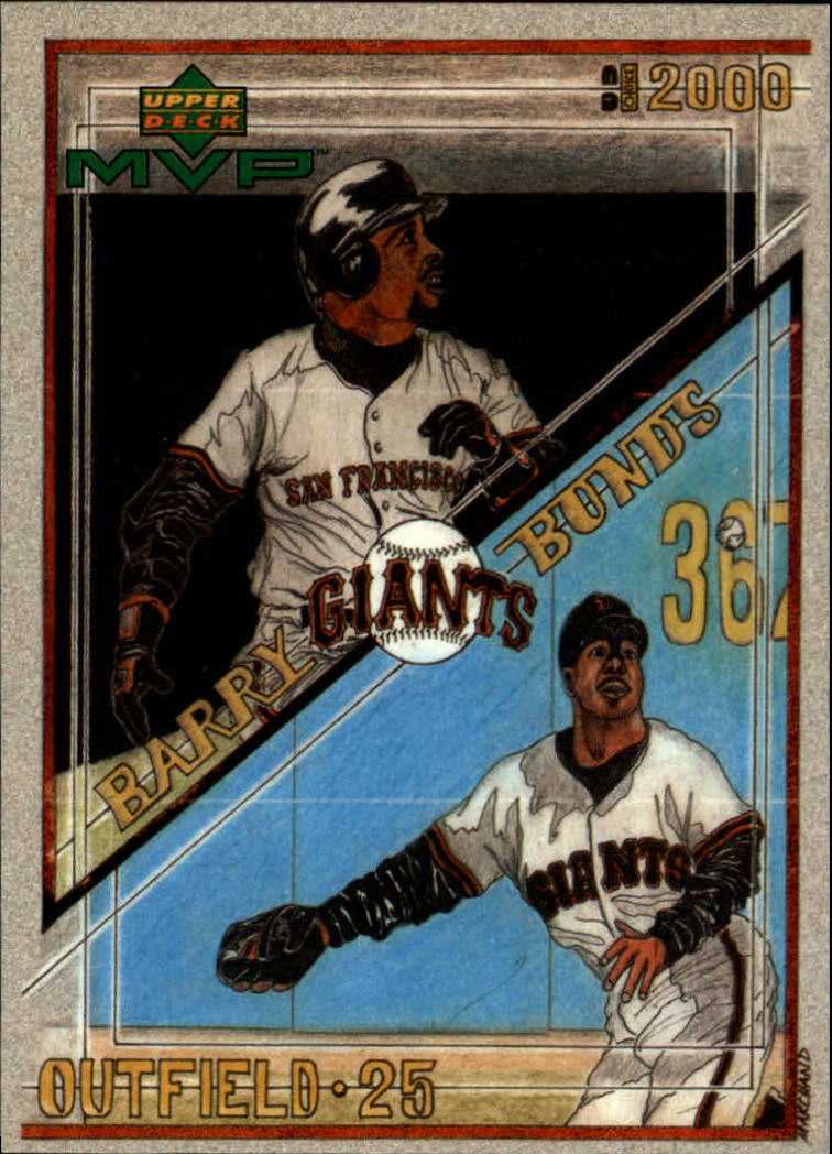 2000 Upper Deck MVP Draw Your Own Card #DT3 Barry Bonds