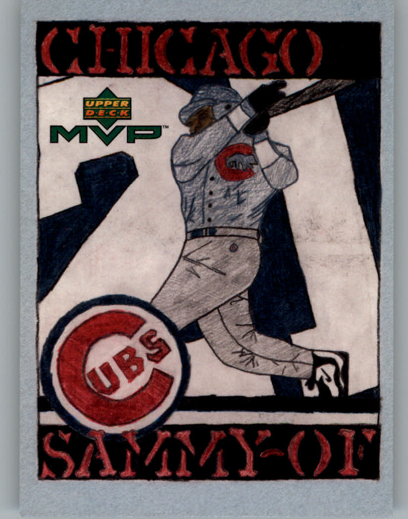 2000 Upper Deck MVP Draw Your Own Card #DT19 Sammy Sosa