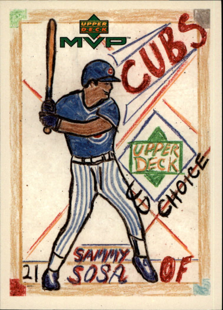 2000 Upper Deck MVP Draw Your Own Card #DT28 Sammy Sosa