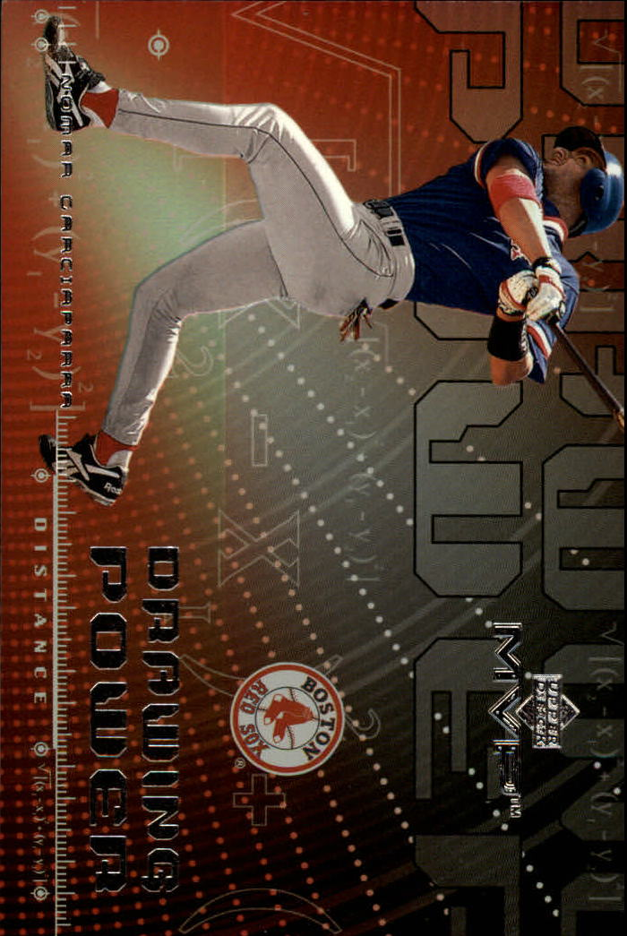 2000 Upper Deck MVP Drawing Power #DP5 Nomar Garciaparra