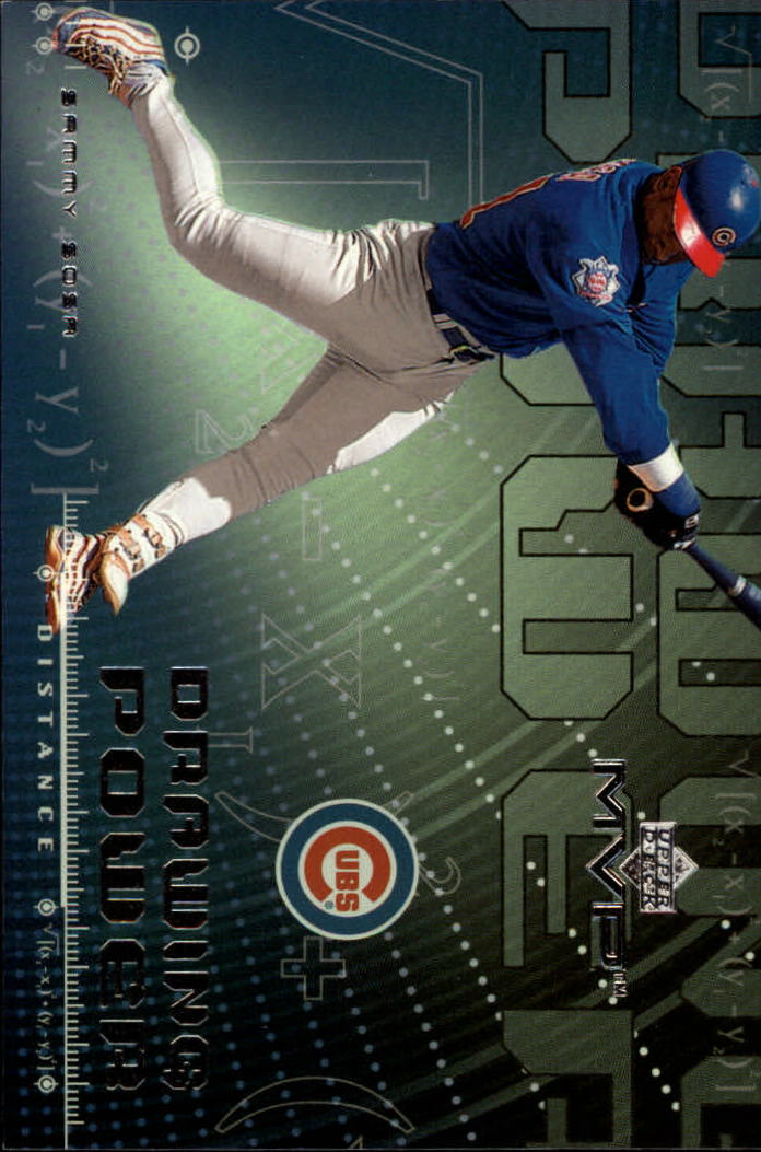 2000 Upper Deck MVP Drawing Power #DP6 Sammy Sosa