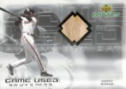 2000 Upper Deck MVP Game Used Souvenirs #BBB Barry Bonds Bat