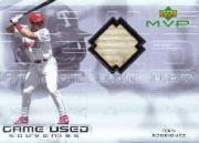 2000 Upper Deck MVP Game Used Souvenirs #IRB Ivan Rodriguez Bat