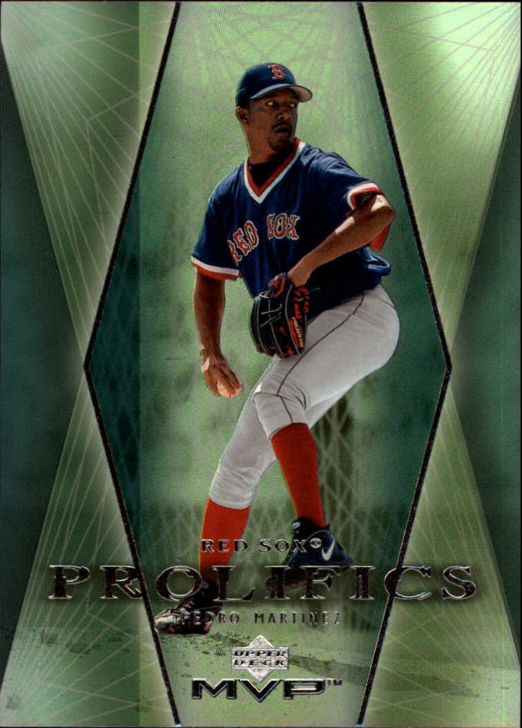 2000 Upper Deck MVP Prolifics #P4 Pedro Martinez