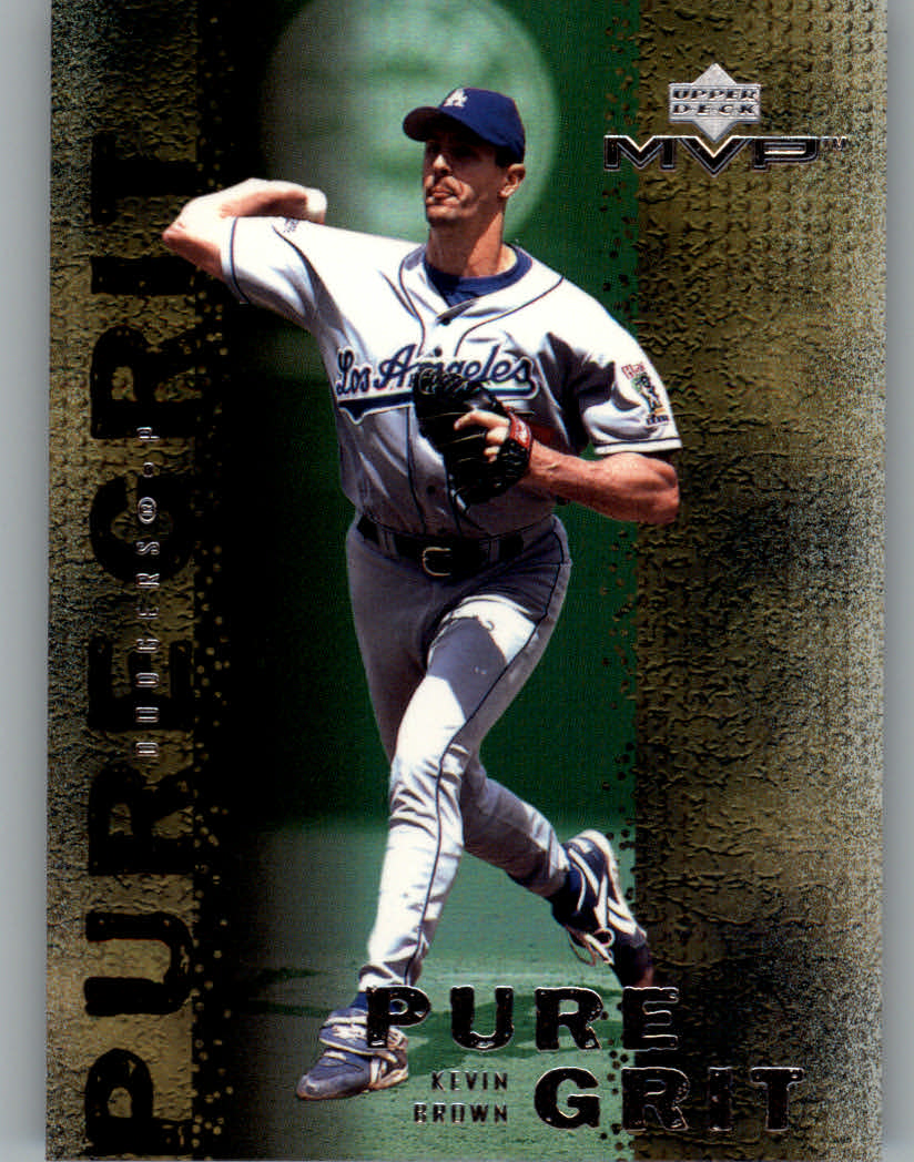 2000 Upper Deck MVP Pure Grit #G2 Kevin Brown
