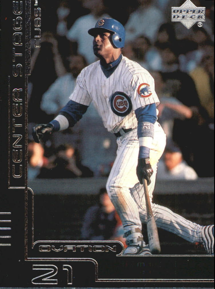 2000 Upper Deck Ovation Center Stage Silver #CS10 Sammy Sosa