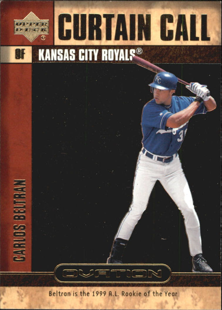 2000 Upper Deck Ovation Curtain Calls #CC18 Carlos Beltran