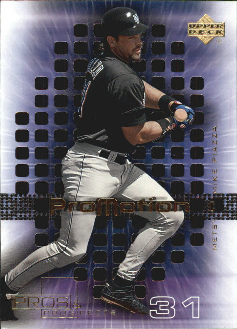 2000 Upper Deck Pros and Prospects ProMotion #P2 Mike Piazza