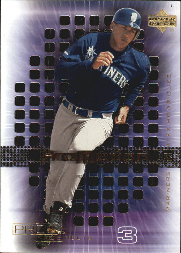 2000 Upper Deck Pros and Prospects ProMotion #P8 Alex Rodriguez